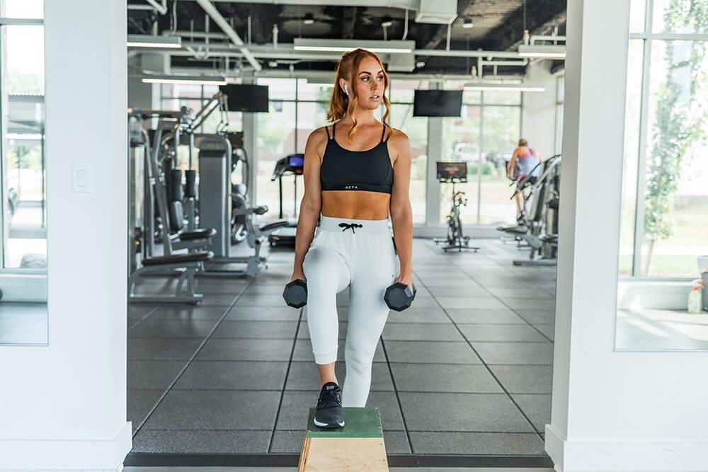 Entrena adecuadamente con pesas